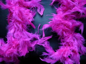 Feather Boa Hen Night Party Fancy Dress Choose Colour in Red Purple Black .....