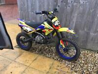 Wpb stomp 160 2win pit bike