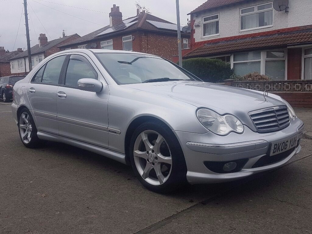 mercedes c220 cdi 06 sport edition facelift leathers full service history top spec. Black Bedroom Furniture Sets. Home Design Ideas