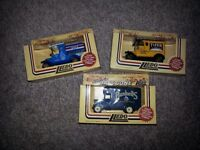 3 Lledo Days Gone diecast model vans