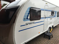 Swift Quattro FB 2013 Caravan with Air conditioning and Awning