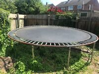free large trampoline 13ft collection only