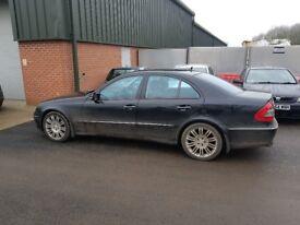 Mercedes e class 280 cdi 7g tronic paddle sift