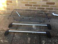 Peugeot 508 SW roof bars and dog grill