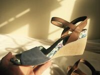 s.Oliver shoes, high sandals, extremely comfortable!!!, Size 4/37