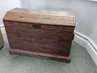 Large Chest Trunk Unique Craftsman Made Reclaimed Wood