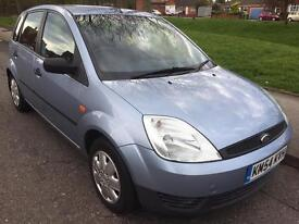 2004 FORD FIESTA LX TDCI 1.4 DIESEL ONLY £30 ROAD TAX*** NEW CLUTCH*** COME WITH FULL 12 MONTHS MOT