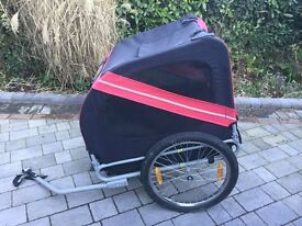 Cycle dog trailer very good condition .could be used for luggage.