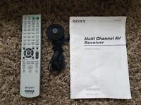 Sony multi channel AV receiver