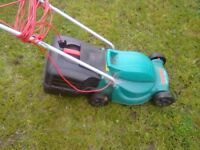 Bosch lawnmover