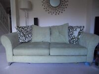 Sofas from DFS - 3 seater + 2 seater sofa bed