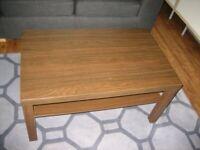 "Ikea Coffee Table - ""LACK"" - in Walnut (dark brown) £10"