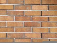 BRICK TILES Yellow/Red and black flamed colour 710,
