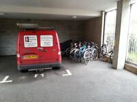Secure car space to rent in gated & sheltered car park off Tredegar Road E3