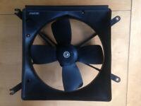 Caterham ,lotus 7, electric fan