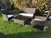 Rattan garden patio or conservatory furniture