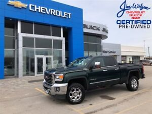 2015 GMC SIERRA 2500HD SLT DIESEL 4X4 HEATED/COOLED SEATS CHROME