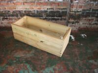NEW HANDMADE WOODEN DECKING PLANTER