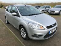 Ford Focus 1.6 TDCi DPF Sport 5dr, 3 Months Warranty, £30 tax/year,1 year mot,F S History, 1 Owner