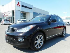 2015 Infiniti QX50 **CUIR BRUN** TOIT OUVRANT**MAGS