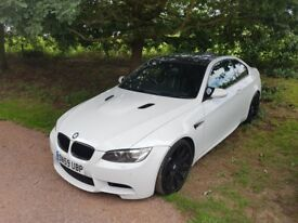 BMW E92 M3 4.0L V8 Alpine Edition (competition pack) EDC, DCT sports car