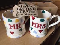 Brand New Mr & Mrs Mugs