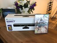 Xbox Kinect and Included game- Kinect Training