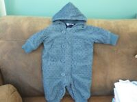 All-In-One First Size Winter body Suit