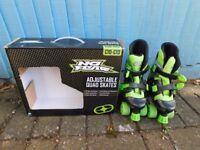 Junior Roller Skates - adjustable size 10-13 - great condition