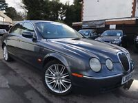 Jaguar S-Type 3.0 V6 Automatic Full Service History 1 Owner From New 12 Months MOT Cream Leather