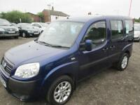 FIAT DOBLO 1.9 Multijet Dynamic 5dr (blue) 2007