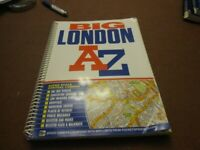 London A to Z Map Book, Street Atlas , Super Scale, Spiral Bound. Very good condition for sale  Southall, London