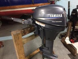 Yamaha 6hp long shaft 4 stroke outboard