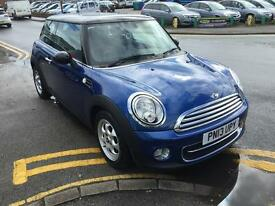 MINI HATCHBACK 1.6 Cooper D London 2012 3dr (blue) 2013