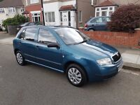 Skoda Fabia (2003) 1.4L 5dr (Automatic) - only 55,000 miles, FSH, cheap to run!