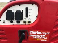 Clarke power inverter generator 2200w