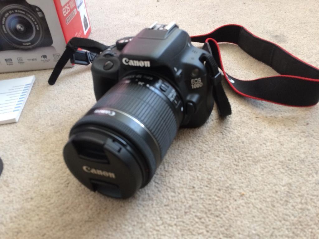 CANON EOS 100d DSLR camera