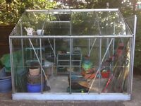 For sale 8ftX6ft Greenhouse With Base