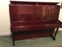 Excellent Upright Piano and Stool