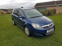 Vauxhall Zafira 1.6 Petrol Manual – DRIVES EXCELLENT – NEW MOT. ONLY ONE OWNER FROM NEW
