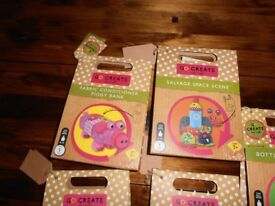 Childrens craft items all new