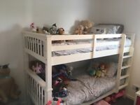 Girls toys, clothes, bikes, scooters, bunk beds and bedding