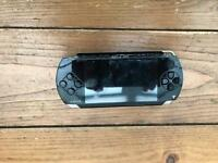 PSP with 3 games