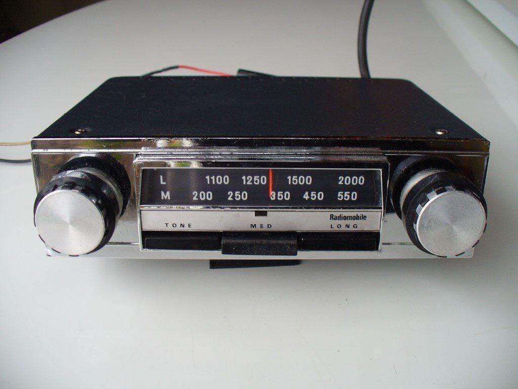 Vintage Radiomobile 80 Classic Car Radio In Beverley East