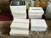 12 boxex iPads empty boxes for sale 12 boxes mixed £20