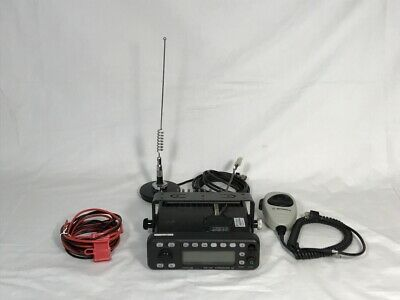 Motorola Mcs 2000 Model Ii Flashport 2 Way Mobile Radio M01hx 896-941 Mhz Uhf