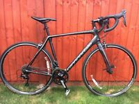 Cannondale synapse 105 carbon road bike large 56cm 800 ovno