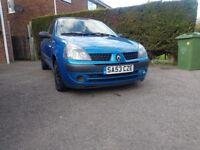 RENAULT CLIO EXTREME 2003 1.2 12monts MOT