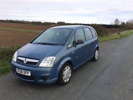 Vauxhall Meriva LOW MILEAGE, FULL MOT