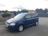 2006(56) Volkswagen Touran 1.9 TDI SE Low Miles + Not Audi A4 A3 Sharan Ford Galaxy